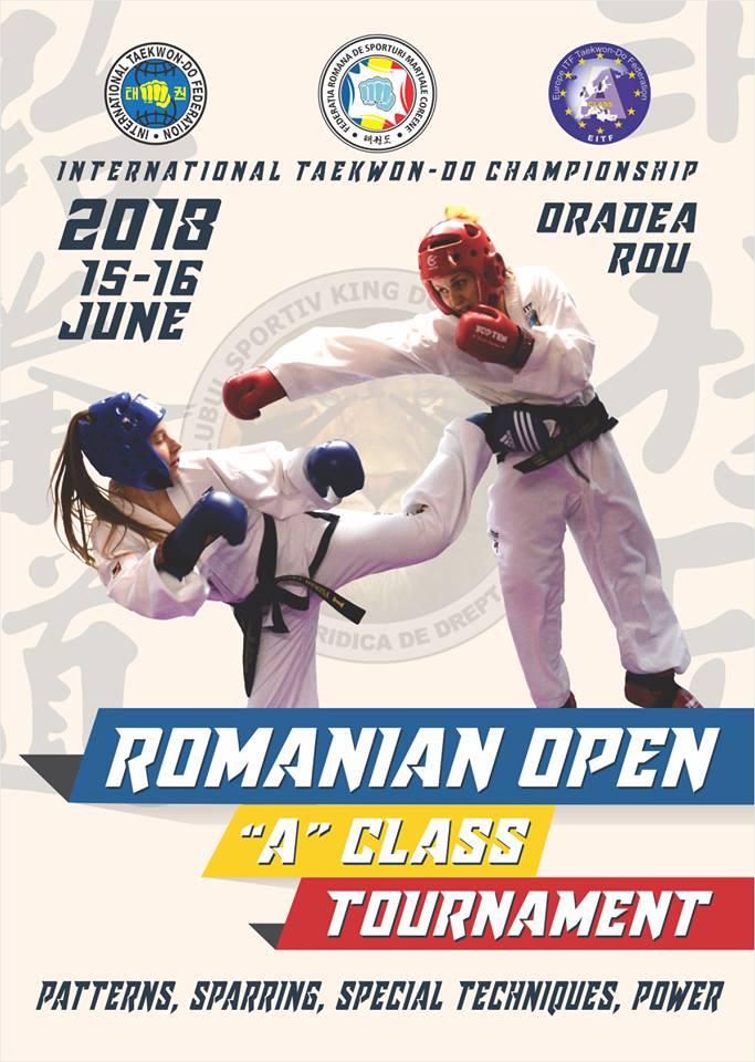 Romania Open 2018 - A Class Tournament