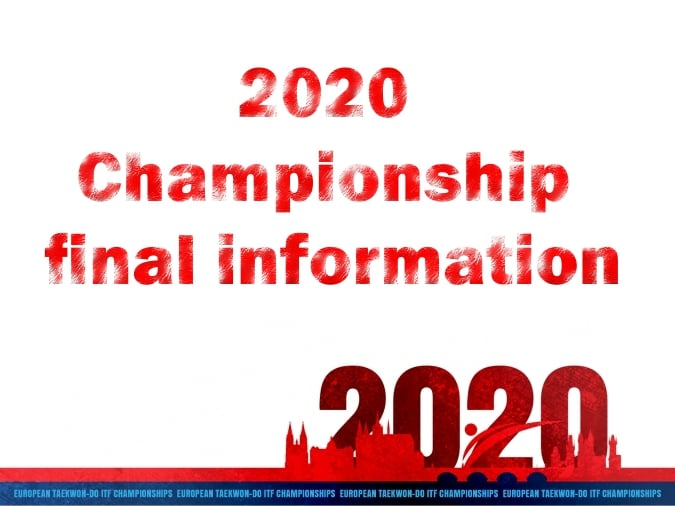 2020 Championship final information from Czech ITF