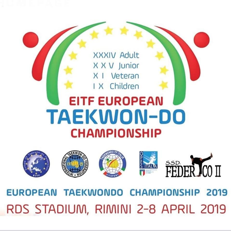 European Championships 2019 Rimini